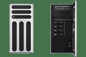 کامپیوتر سرور ایسوس مدل TS500-E8-PS4v2-C کامپیوتر TS500-E8-PS4v2-C که کامپیوتری ایستاده که برای کاربران Workstation و سرور طراحی و ساخته شده است. سرور ساخته شده است. این سرور دارای ویژگی هایی چون؛ پشتیبانی از آخرین نسل پردازنده های خانواده Xeon E5-2600v4، 8 شکاف رم، 6 شکاف PCIe، 3 جایگاه درایو نوری، 4 جایگاه هارد دیسک با قابلیت Hot-Swap و یک عدد پاور 500 وات 80 Plus می باشد. همانند دیگر سرور های نسل E8، TS500-E8-PS4 نیز از اجزای با کیفیت بهره می برد که به میزان 94% بهره وری را افزایش می دهد. بواسطه قدرت پردازش فوق العاده و قابلیت های توسعه، این سرور یک انتخاب مناسب برای کسب و کارهای درحال رشد و کاربران حرفه ای می باشد. TS500-E8-PS4 دارای 4 جایگاه هارد دیسک Hot-Swap 3.5 اینچی می باشد که با استفاده از کارت های ASUS PIKE II به صورت دلخواه جهت اضافه کردن قابلیت های RAID سخت افزاری، انعطاف بالایی در مدیریت فضای ذخیره سازی فراهم میسازد. همچنین در صورت بهره گیری از TS500-E8-PS4 به عنوان سرور اصلی می توانید به صورت دلخواه از ریل های قابل نصب در رک استفاده نمایید و ضمن یکپارچگی و صرفه جویی در فضای اشغالی، با توسعه کسب و کار خود سیستم های مورد نیاز را تهیه نمایید. در این سرور 6 شکاف توسعه قرار گرفته است که وجود 2 عدد PCI-E Gen3 x16 جهت نصب کارت های گرافیک این سرور را به انتخابی مناسب برای نرم افزار های گرافیکی تبدیل کرده است. علاوه بر این، پشتیبانی از کارت صدای MIO-892 می تواند تجربه صدایی با کیفیت و فراگیر (7.1) کانال را به ارمغان آورد. در این مطلب سعی داریم شما را با مشخصات TS500-E8-PS4v2-C بیشتر آشنا کنیم.