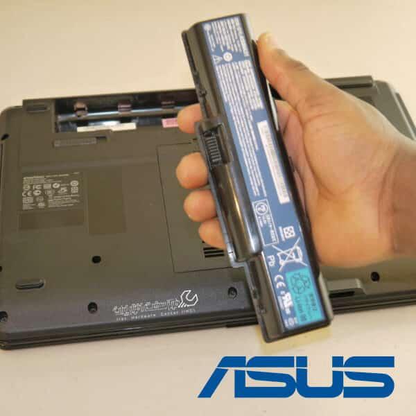 تعویض باتری لپ تاپ ایسوس