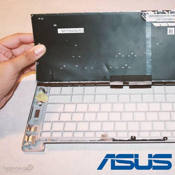 آموزش تعمیر کیبورد لپ تاپ ایسوس