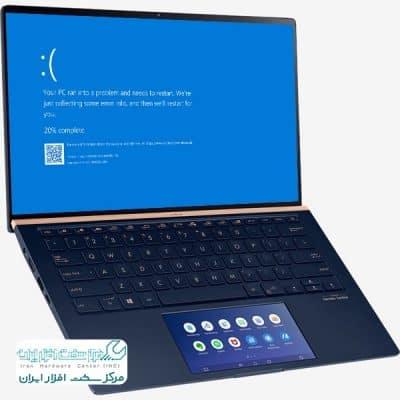 نمایش صفحه آبی لپ تاپ ایسوس