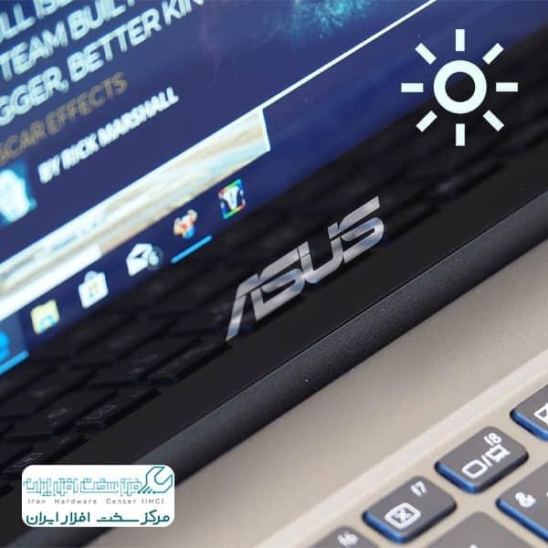 زیاد کردن نور لپ تاپ ایسوس