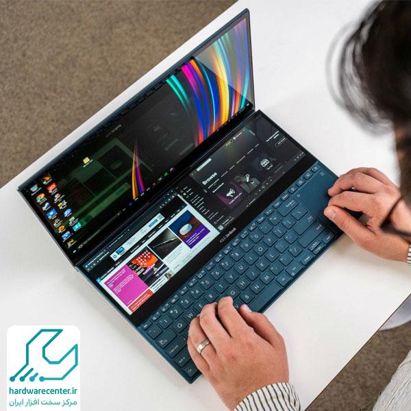 ZenBook Pro Duo UX581GV-PLZ، بهترین لپ تاپ ایسوس 2020 برای گیمرها
