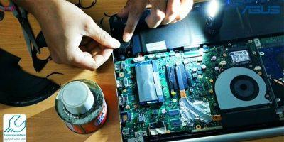 تعمیر اسپیکر لپ تاپ ایسوس